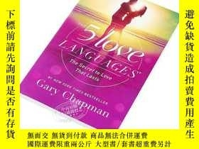二手書博民逛書店愛的五種語言罕見英文原版 The 5 Love Languages Gary Chapman Northfield