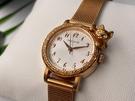 星晴錶業-Paul & Joe女錶,編號AB00002,24mm玫瑰金錶殼,玫瑰金色錶帶款