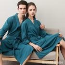 浴袍 春季柔軟吸水毛巾料浴袍女可愛薄款性感情侶睡袍睡衣男五星級浴衣 星河光年