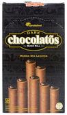 【吉嘉食品】黑雪茄巧克力威化捲心酥(奶素) 1盒320公克20入{105-6123}[#1]