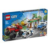 樂高積木 LEGO《 LT60245》City 城市系列 - Police Monster Truck Heist╭★ JOYBUS玩具百貨
