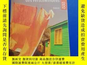 二手書博民逛書店德語原版小說罕見Die Kunst des VerschwindensY153720