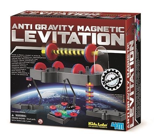 無重力磁浮組合 Anti Gravity Magnetic Levitation 共有七種無重力漂浮的實驗 一起來觀察有趣的現象