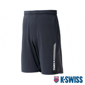 【超取】K-SWISS Performance Knit Shorts 運動短褲-男-黑