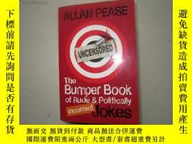 二手書博民逛書店The罕見bumper Book of Rude and Pol