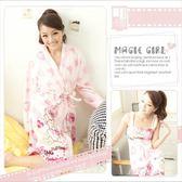 ~╮魔幻甜心╭~~S651 ~暖冬定番→可愛小熊.兩件式睡袍睡袍小洋裝