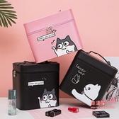 化妝箱 化妝包大容量多功能簡約便攜可愛少女網紅韓國小號收納盒品箱手提