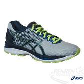 ASICS亞瑟士 男慢跑鞋 GEL-NIMBUS 18(4E) (白*藍) 高緩衝