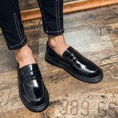 套腳懶人鞋 休閒鞋 一腳蹬工裝鞋【五巷六號】x222