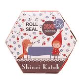 《Shinzi Katoh 加藤真治》小紅帽盒裝抽取貼紙共100枚★funbox生活用品★_ZI02854