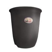 Luder 塑質素陶盆6吋 咖啡