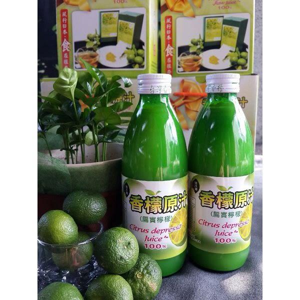 【台灣香檬】100%香檬原汁x2瓶+精華粉x2罐 含運價1500元