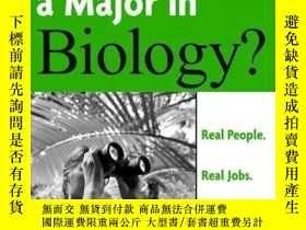 二手書博民逛書店What罕見Can You Do With A Major In BiologyY256260 Bart As