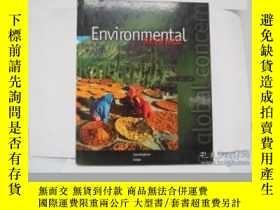 二手書博民逛書店Environmental罕見Science: A Global Concern, Fifth Edition