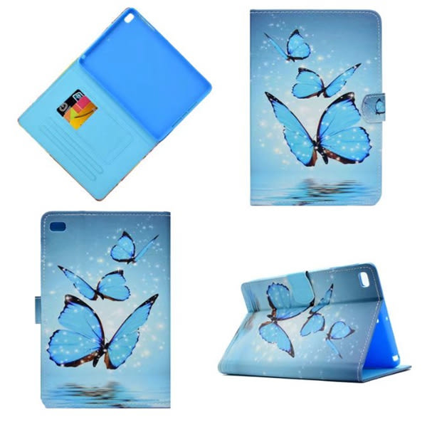 蘋果 iPad Mini4 Mini3 平板套 保護套 插卡 支架 防滑 彩繪 平板皮套