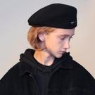 英倫復古羊毛貝雷帽秋冬韓版日系畫家帽街頭潮牌個性男女ins百搭  快速出貨