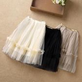 公主裙新款童裝韓版兒童網紗裙蓬蓬裙短裙