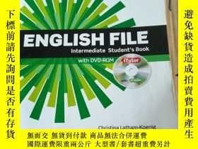二手書博民逛書店English罕見File intermediate Stude