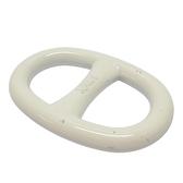 HERMES 愛馬仕 白色豬鼻造型絲巾環 Scarf Ring 【BRAND OFF】
