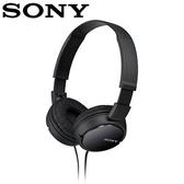 【公司貨-非平輸】SONY 索尼 ZX110 多彩耳罩式耳機 黑