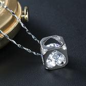 【J&K】耀眼系列八心八箭晶鑽項鍊-冰晶『現貨』