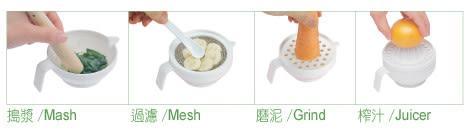 【奇買親子購物網】酷咕鴨KU.KU.-七件組食物調理器
