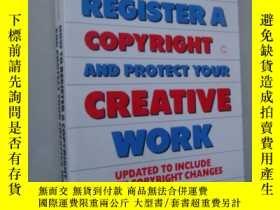 二手書博民逛書店How罕見to register a copyright and