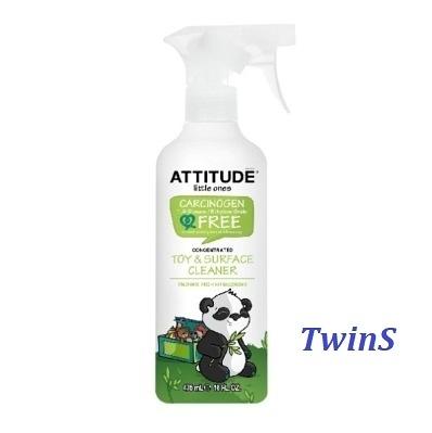 ATTITUDE艾特優-玩具表面清潔劑 475ml【送驅蚊貼片】