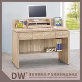 【多瓦娜】19058-629001 安寶耐磨橡木4尺電腦辦公桌(P40)