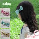 亮片蝴蝶結-兒童立體裝飾髮夾 - 三色(紫色, 綠色, 黃色)