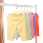 女寶寶打底褲新款夏裝兒童七分褲薄款嬰兒夏季褲子女童裝春秋