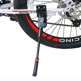 單車支架自行車腳撐26寸山地車公路車車撐邊撐停車架車踢單支架腳架站架 LX 歐亞時尚