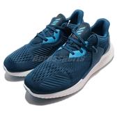adidas 慢跑鞋 Alphabounce RC 2 M 藍 避震回彈 男鞋 運動鞋 【ACS】 D96514