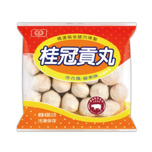 桂冠貢丸430g  【愛買冷凍】