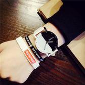 手錶韓國ulzzang復古男錶女潮流簡約正韓風個性黑白學生情侶手錶全館免運下殺75折