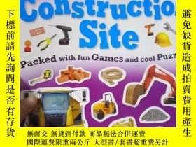 二手書博民逛書店Sticker罕見Activity Book Construct