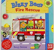 【Bizzy Bear 可愛操作書】BIZZY BEAR FIRE RESCUE /硬頁書