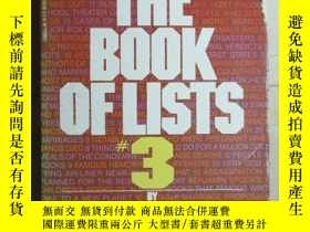 二手書博民逛書店The罕見Book of lists #36583 AMY WA