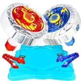 魔幻陀螺2代3玩具兒童拉線男孩新款發光