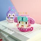 拼圖美樂迷你小顆粒拼裝積木立體益智玩具兼容樂高成年人【奇妙商舖】