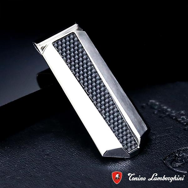 藍寶堅尼Tonino Lamborghini ARIA Silver 錢夾 鈔票夾 防抗過敏 SUS316L頂級不鏽鋼 義大利精品