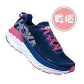 樂買網 HOKA ONE ONE 18FW 支撐女慢跑鞋 Bondi 5 寬楦 1016605BSTW 贈腿套+襪