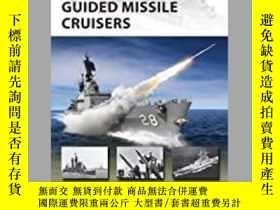 二手書博民逛書店US罕見Navy Cold War Guided Missile Cruisers (damaged)-美國海軍冷