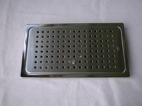 【麗室衛浴】不鏽鋼集水槽 G-001-2A  尺寸25*14*3cm  出清現貨三個 售完就沒有了