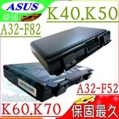 ASUS A32-F82 電池-華碩 K40,K40E,K40IJ,K50,K50IJ,K50IN,K51,K50ID,A32-K40, K40AB,K40AC,K40AD
