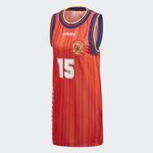 ADIDAS SPAIN TANK DRESS 紅 西班牙 FIFA 世足 背心 女(布魯克林) CE2311