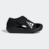ADIDAS AltaVenture I [D97200] 小童 運動 休閒 快乾 涼鞋 雨鞋 水鞋 魔鬼氈 黑白