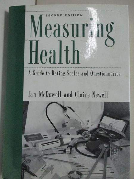【書寶二手書T1/大學理工醫_KFU】Measuring Health: A Guide to Rating Scales…