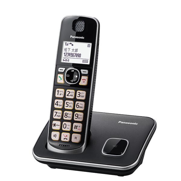 【現在買就送側背包】Panasonic 國際牌 DECT 中文數位無線電話 KX-TGE610 TWB