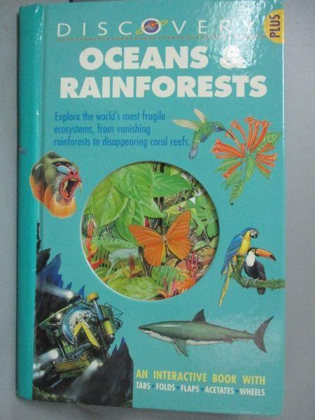【書寶二手書T1/動植物_YEE】Oceans & Rain Forests_Frances A. Dipper, Jane Parker